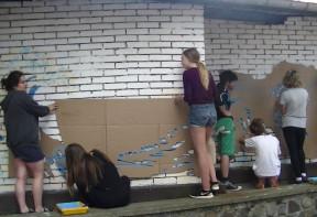 malowanie muralu
